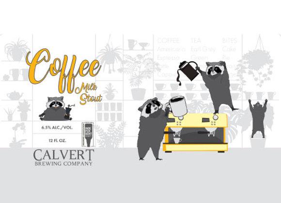 Calvert Coffee Milk Stout (Sweet Stout - Growler) (MD)