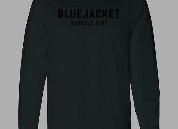 Classic Logo Long Sleeve Shirt (Black/ Black)
