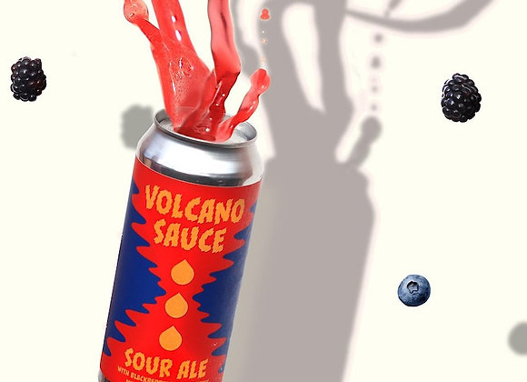 Aslin Volcano Sauce (Fruited Sour Ale - 4 Pack x 16 oz.) (MD)