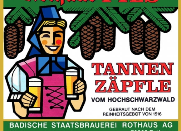 Rothaus Tannenzäpfle (German Pilsner - 6 Pack x 11.2 oz.)