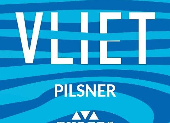 Threes Vliet (German Pilsner - 4 Pack x 16 oz.)