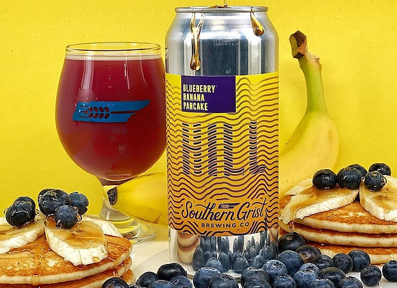 Southern Grist Blueberry Banana Pancake Hill (Fruited Sour Ale - 4 Pack x 16 oz)