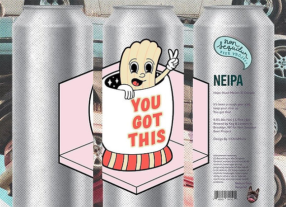 Non Sequitur You Got This (Hazy IPA - 4 Pack x 16 oz.)