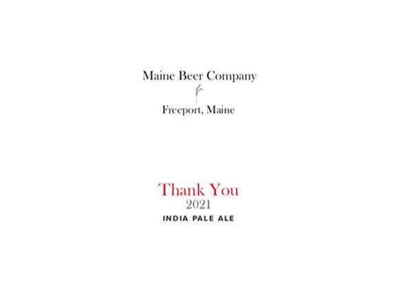 Maine Thank You 2021 (American IPA - Single x 16.9 oz.)