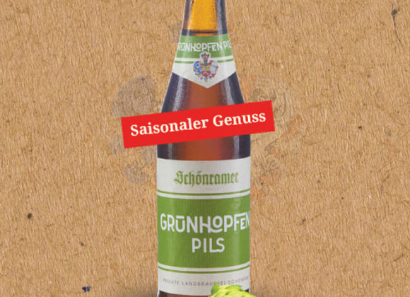 Schönram Grünhopfen Pils (Fresh Hop German Pilsner - Single x 11.2 oz.)