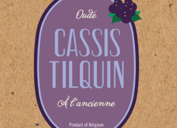 Tilquin Oude Cassis 2018/2019 (Fruit Lambic - Single x 12.7 oz.)
