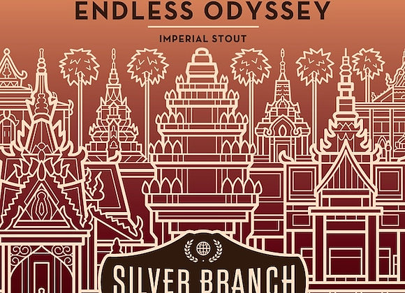 Silver Branch Barrel-Aged Endless Odyssey (Imperial Stout - 32 oz. Growler) (MD)