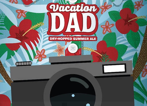 Perennial Vacation Dad (American Blond Ale - 4 Pack x 16 oz.)