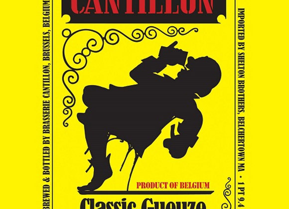 Cantillon Gueuze 100% Lambic 2018 (Gueuze Lambic - Single x 12.7 oz.)