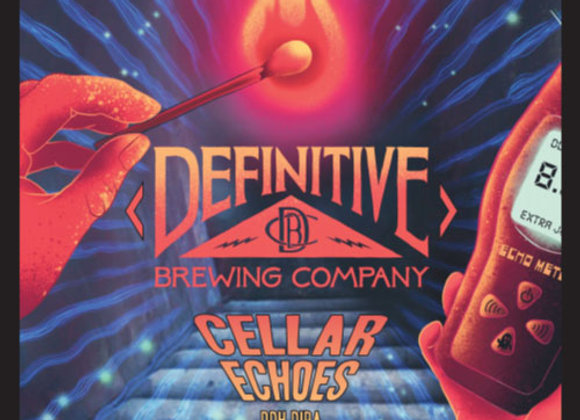 Definitive Cellar Echoes (Hazy Double IPA - 4 Pack x 16 oz.) (MD)