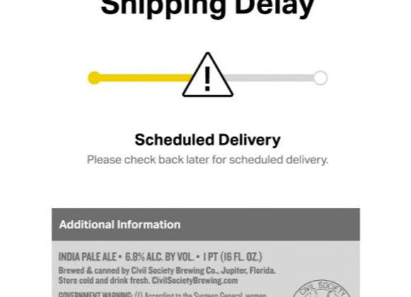Civil Society Shipping Delay (Hazy IPA - 4 Pack x 16 oz.)