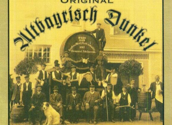 Schönram Altbayrisch Dunkel (Dunkel Lager - Single x 16.9 oz.)