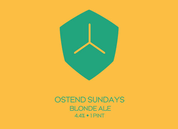 Diamondback Ostend Sundays (American Blond Ale - 4 Pack x 16 oz.) (MD)