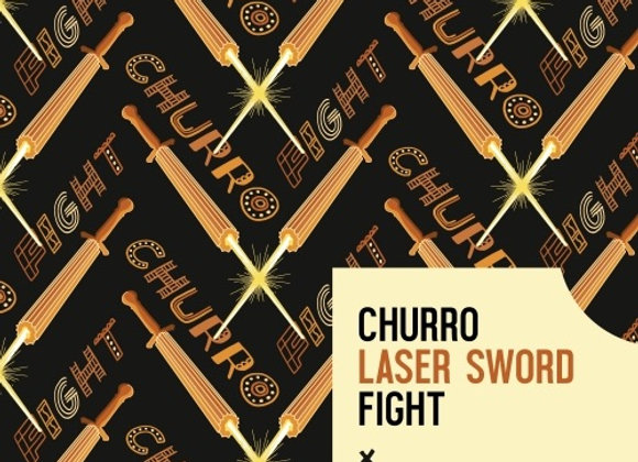 WeldWerks Churro Laser Sword Fight (Sour Ale - 4 Pack x 16 oz.)