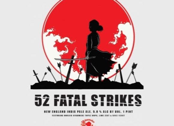 Widowmaker 52 Fatal Strikes (Hazy IPA - 4 Pack x 16 oz.)