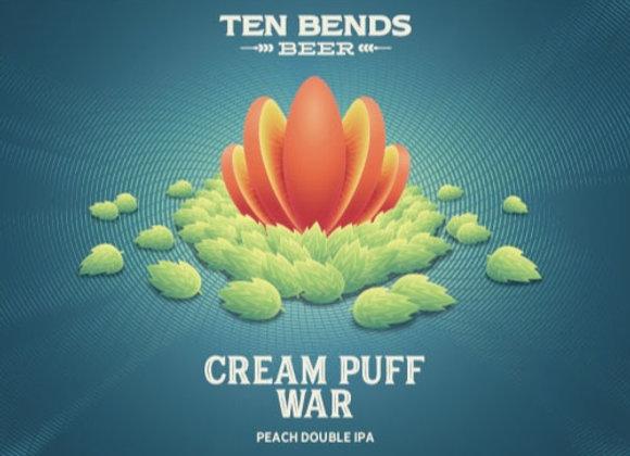 Ten Bends Cream Puff War (Milkshake Double IPA - 4 Pack x 16 oz.)
