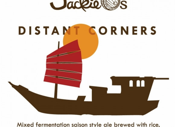 Jackie O's Distant Corners 2018 (Mixed Fermentation Ale - Single x 16.9 oz.)