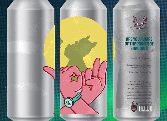 Non Sequitur Are You Aware Of The Power Of Shadows (Hazy IPA - 4 Pack x 16 oz.)