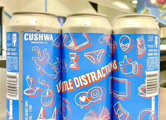 Cushwa Little Distractions (Hazy IPA - 4x16 oz.) (Indian Spgs) (MD) - PRE ORDER