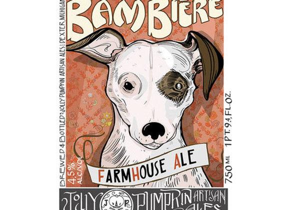 Jolly Pumpkin Bam Bière (Mixed Fermentation Ale - Single x 12.7 oz.)