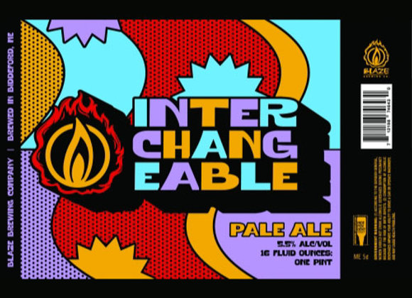 Blaze Interchangeable #8 (Hazy Pale Ale - 4 Pack x 16 oz.)
