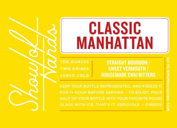 Classic Manhattan - 10 Oz. Bottle (Serves 2)