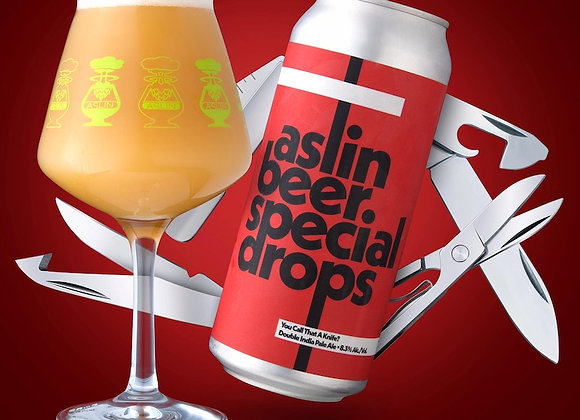 Aslin DDH You Call That A Knife? (Hazy Double IPA - 4 Pack x 16 oz.)