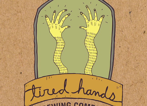 Tired Hands HopHands (Hazy Pale Ale - 4 Pack x 16 oz.)