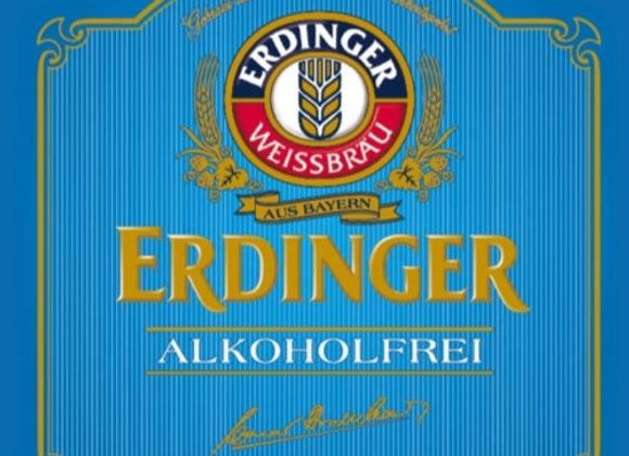 Erdinger Alkoholfrei (Non-Alcoholic Hefeweizen - 6 Pack x 11.2 oz.)