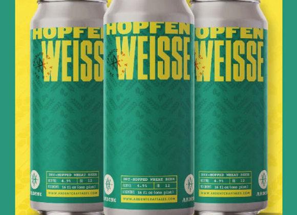 Ardent Hopfenweisse (Hefeweizen - 4 Pack x 16 oz.)