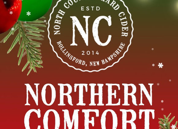 North Country Northern Comfort (Cider - 4 Pack x 12 oz.)