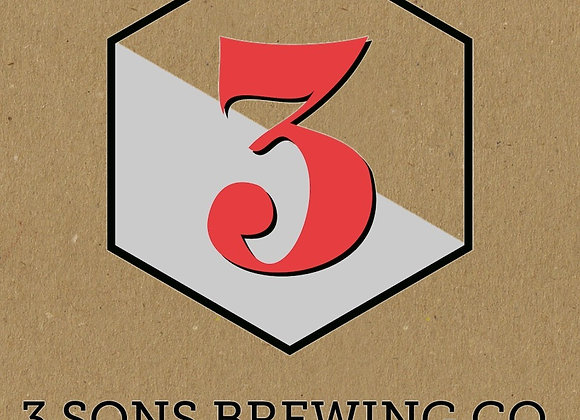 3 Sons Baby Scoop (Sweet Stout - 4 Pack x 16 oz.)