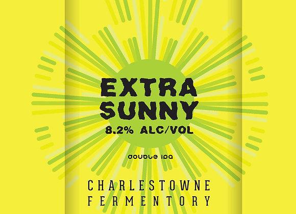 Charles Towne Extra Sunny (Hazy Double IPA - 4 Pack x 16 oz.)