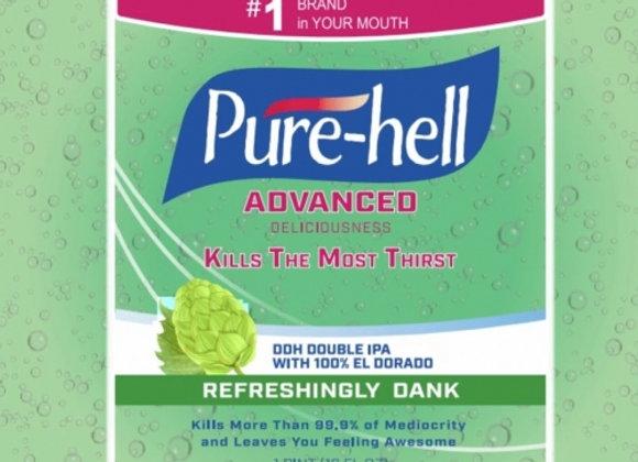 Precarious Pure-Hell (Hazy Double IPA - 4 Pack x 16 oz.)