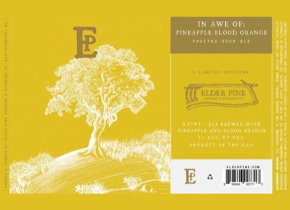 Elder Pine In Awe Of: Pineapple & Blood Orange (Sour Ale - 4 Pack x 16 oz.) (MD)