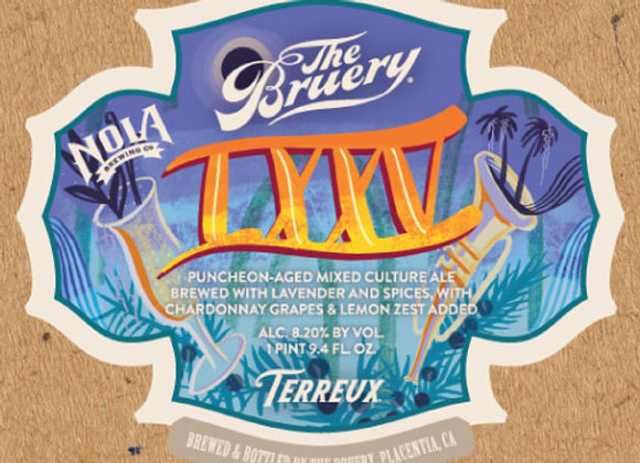 Bruery Terreux LXXV 2019 (Mixed Fermentation Ale - Single x 25.4 oz.)