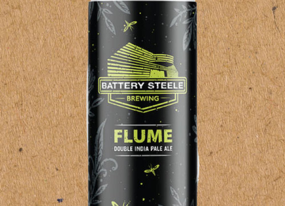 Battery Steele Flume (Hazy Double IPA - 4 Pack x 16 oz.)