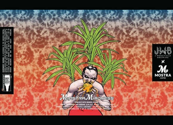 J. Wakefield Mostra Madness (Fruited Sour Ale - 4 Pack x 16 oz.)
