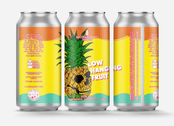 Magnanimous Low Hanging Fruit (Fruited Sour Ale - 4 Pack x 16 oz.)