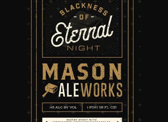 Mason Blackness Of Eternal Night (Imperial Stout - Single x 16 oz.)