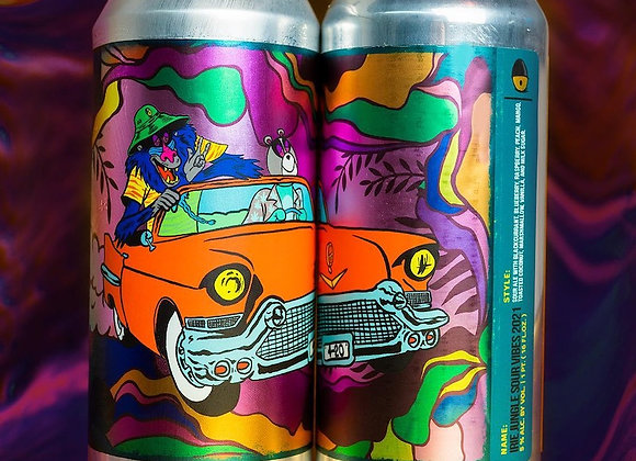 Tripping Animals Irie Jungle Sour Vibes '21 (Fruited Sour Ale - 4 Pack x 16 oz.)
