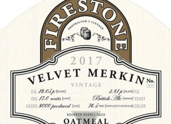 Firestone Walker Velvet Merkin 2017 (Imperial Stout - Single x 22 oz.)