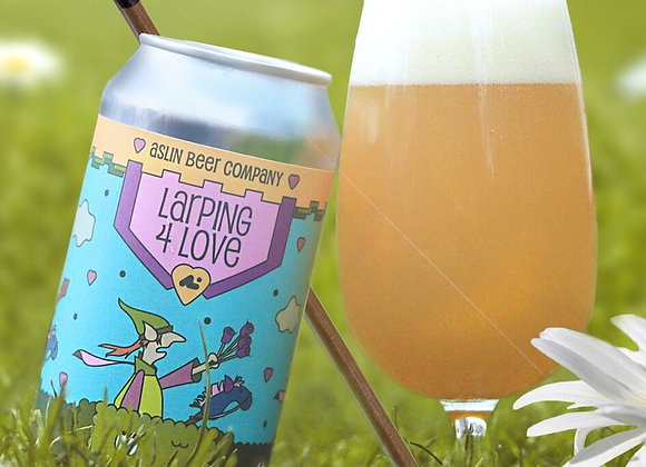 Aslin Larping 4 Love (Hazy Double IPA - 4 Pack x 16 oz.) (MD)