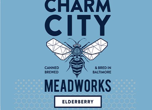 Charm City Elderberry (Mead - 4 Pack x 12 oz.)
