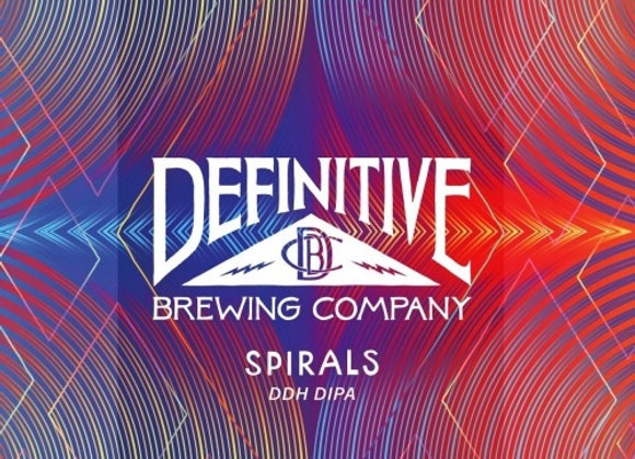 Definitive Spirals (Hazy Double IPA - 4 Pack x 16 oz.) (MD)