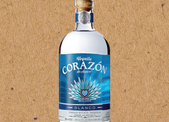 Corazón Blanco / 100% Agave Tequila Blanco (DC ONLY)
