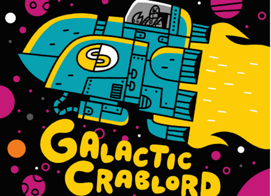 Crooked Crab Galactic Crablord (Hazy Double IPA - Growler) (MD)