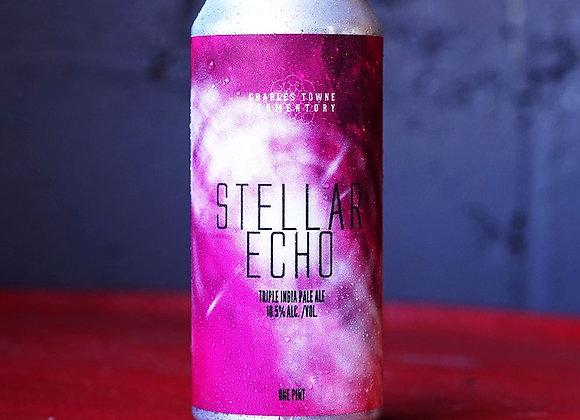 Charles Towne Stellar Echo (Hazy Triple IPA - 4 Pack x 16 oz.)