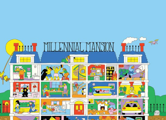 Prairie Millennial Mansion (Fruited Sour Ale - 4 Pack x 12 oz.)