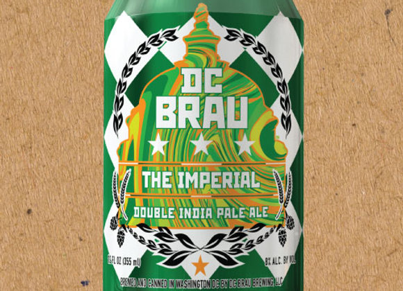 DC Brau The Imperial (Double IPA - 6 Pack x 12 oz.)